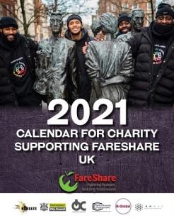 Nottingham 2021 Calendar for FareShare UK