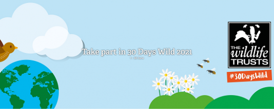 The Wildlife Trusts 30 Days Wild campaign