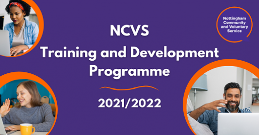 NCVS Training and Development Programme, new courses available