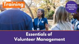NCVS course Essentials of Volunteer Management