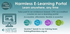 Self harm and suicide prevention e-learning platform