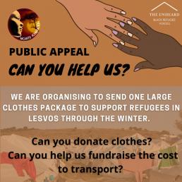 Mojatu Foundation Refugee Appeal