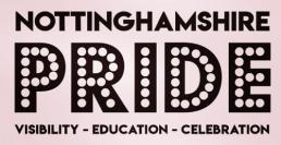 Visit the Nottinghamshire Pride Facebook page
