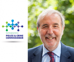 Nottinghamshire Police and Crime Commissioner Paddy Tipping