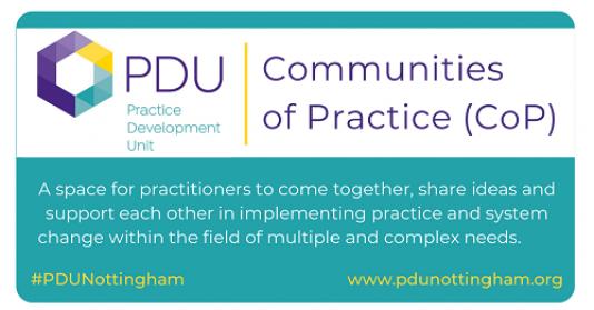PDU Communities of Practice (CoP)