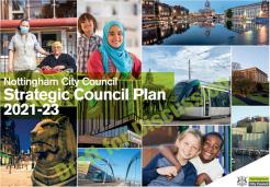 Nottingham City Council Strategic Council Plan 2021-23