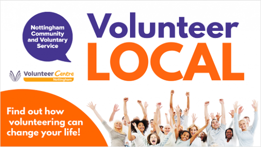 Volunteer Local promotional image - find out how volunteering can change your life!