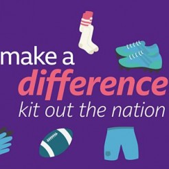'Kit out the Nation' campaign