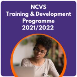 NCVS Training & Development Programme 2021-2022