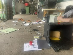 RideWise's Bike Workshop has been hit by vandalism and theft