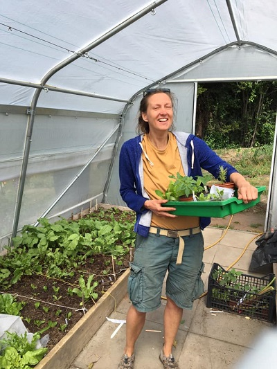 Nat Hurst is one of Bulwell Forest Garden's volunteers