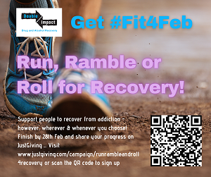 Run, Roll or Ramble for Recovery