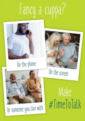 Fancy a Cuppa campaign to ease loneliness
