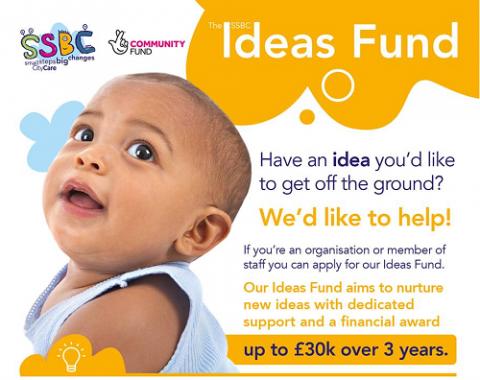 Small Steps Big Changes (SSBC) Ideas Fund