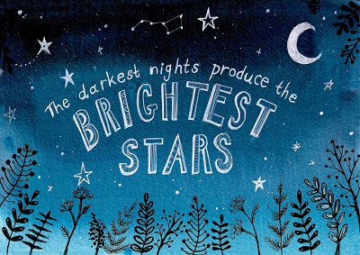 One of the #NottinghamStar postcard designs