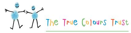The True Colours Trust logo