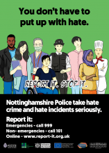 Campaign launched to encourage Nottingham's Chinese community to report hate crimes