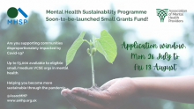 Mental Health Sustainability Fund open for applications