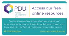 PDU Nottingham Access our online resources