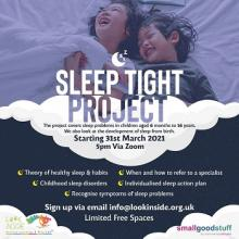 New Sleep Tight Project is looking for parents and carers to participate