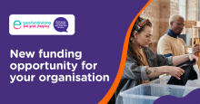 Easyfundraising turns everyday online shopping into free donations for your charity.